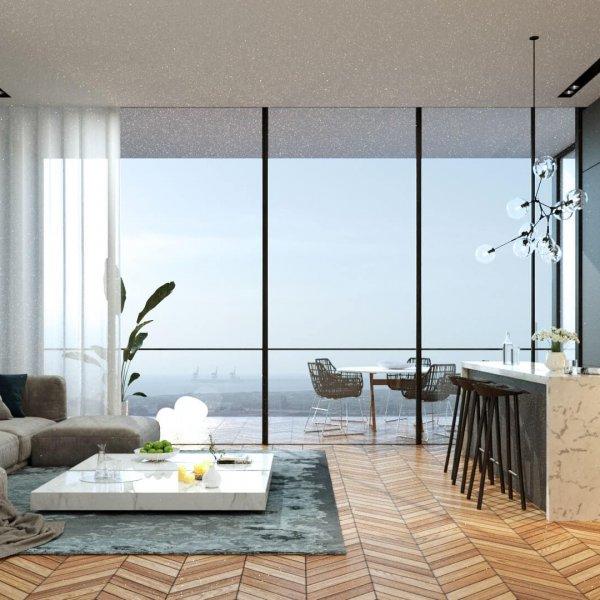 הדמיית נוף - דירות מגורים - פרויקט ICON energy אנרג'י פארק חדרה