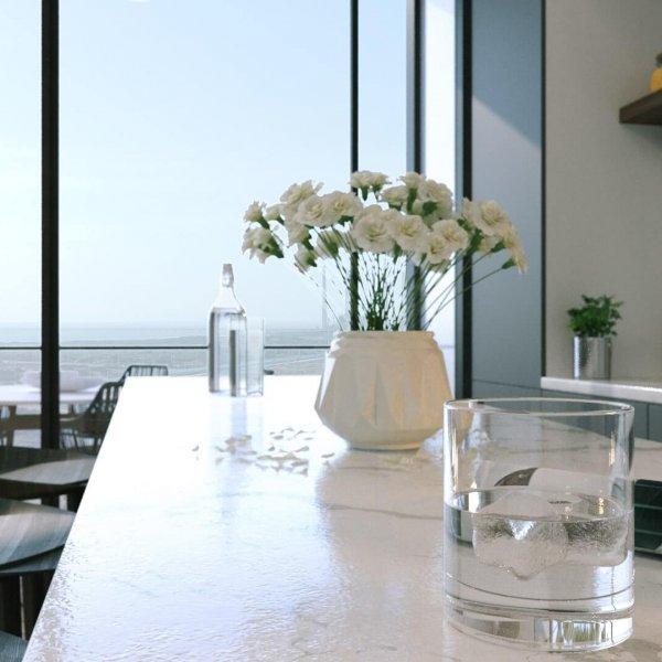 הדמיה דירות מגורים - פרויקט ICON energy אנרג'י פארק חדרה